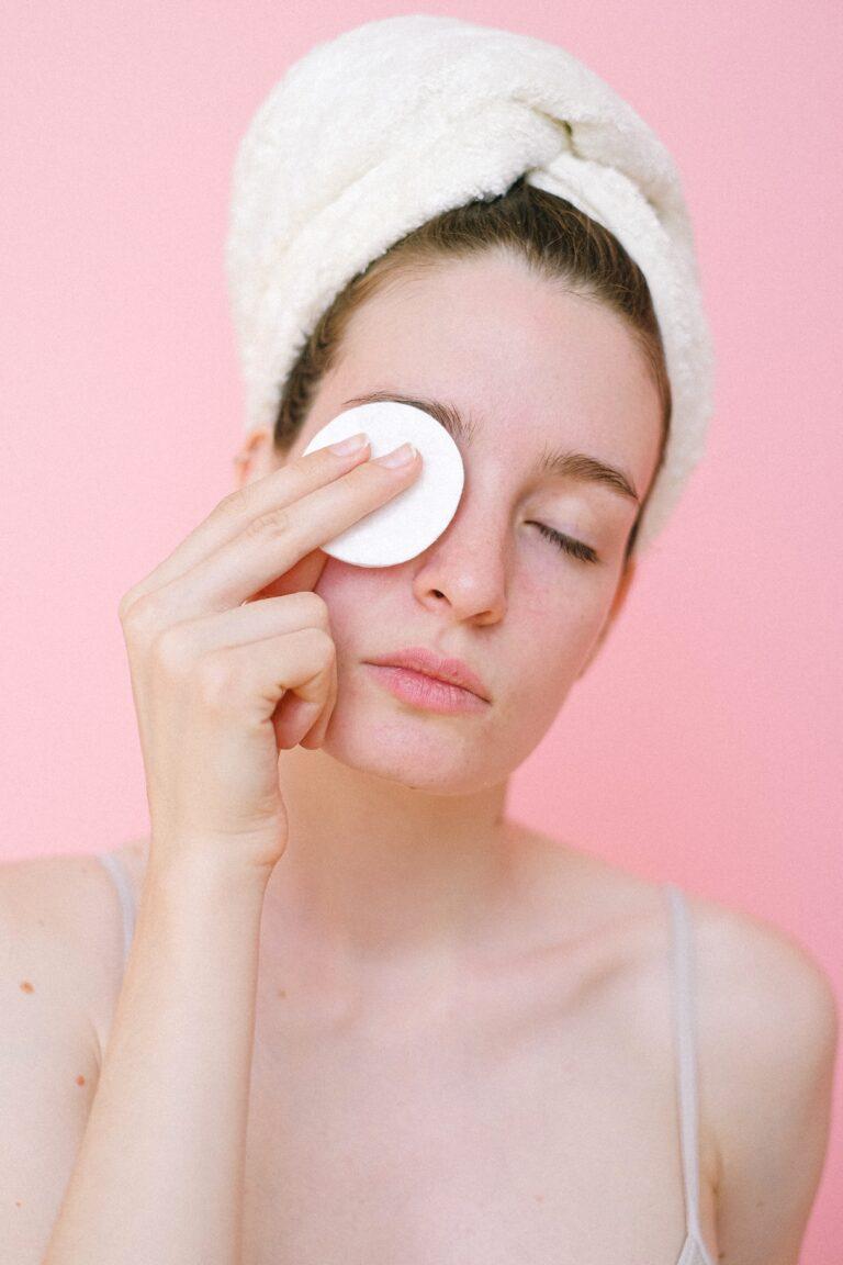 Pravidla při umývání obličeje